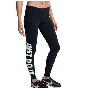 Nike Women's Just Do It Leg-A-See Leggings size XS